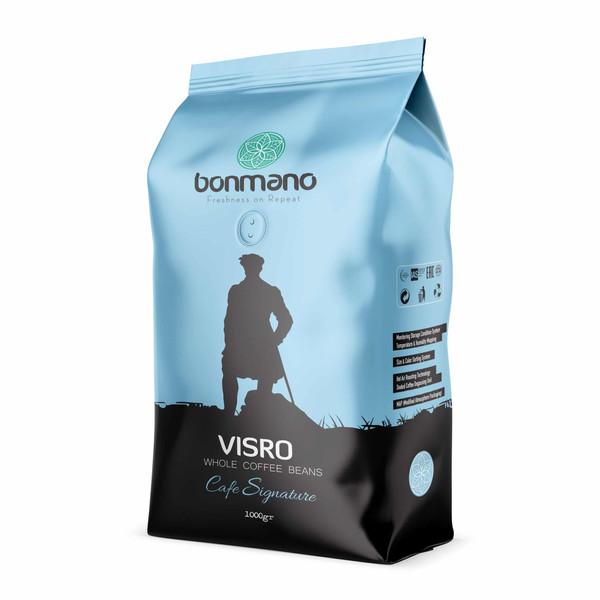 دانه قهوه اسپرسو ویسرو بن مانو - 1000 گرم