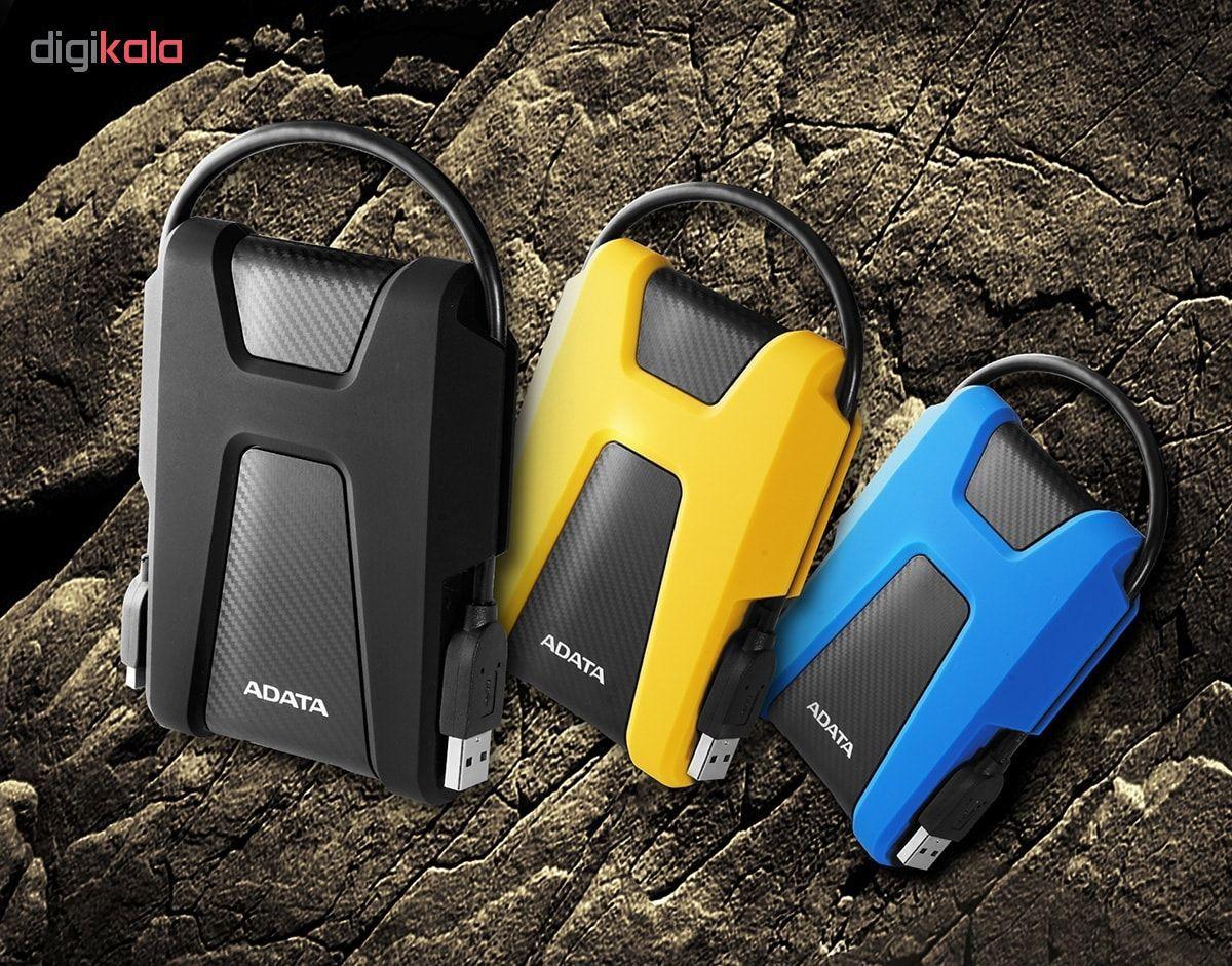 هارددیسک اکسترنال ای دیتا مدل DashDrive Durable HD680 ظرفیت 1 ترابایت main 1 4