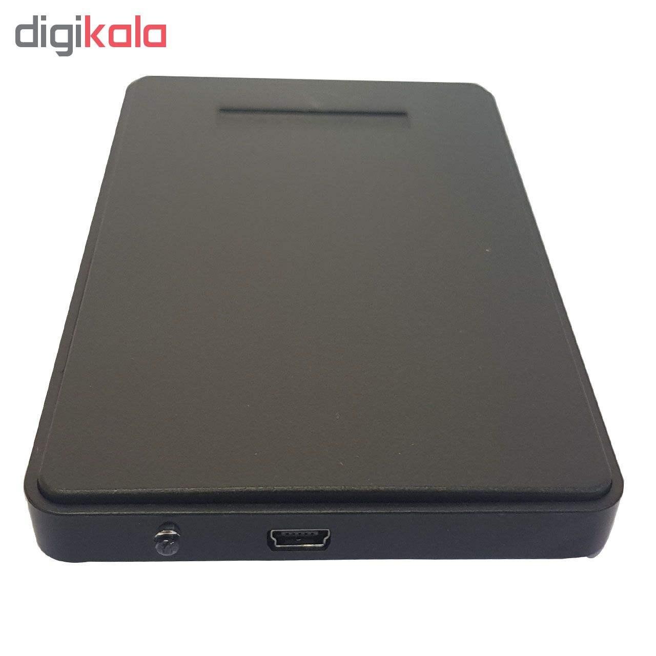 باکس تبدیل SATA به USB 2.0 هارددیسک 2.5 اینچی مدل g120   G120 SATA to USB 2.0 2.5 inch Hard HDD En