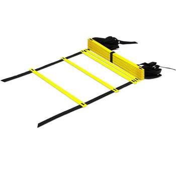 نردبان چابکی ۳ متری ۸ پله مدل Agility Ladder A1 نشکن به همراه کاور و دستبند پاوربالانس
