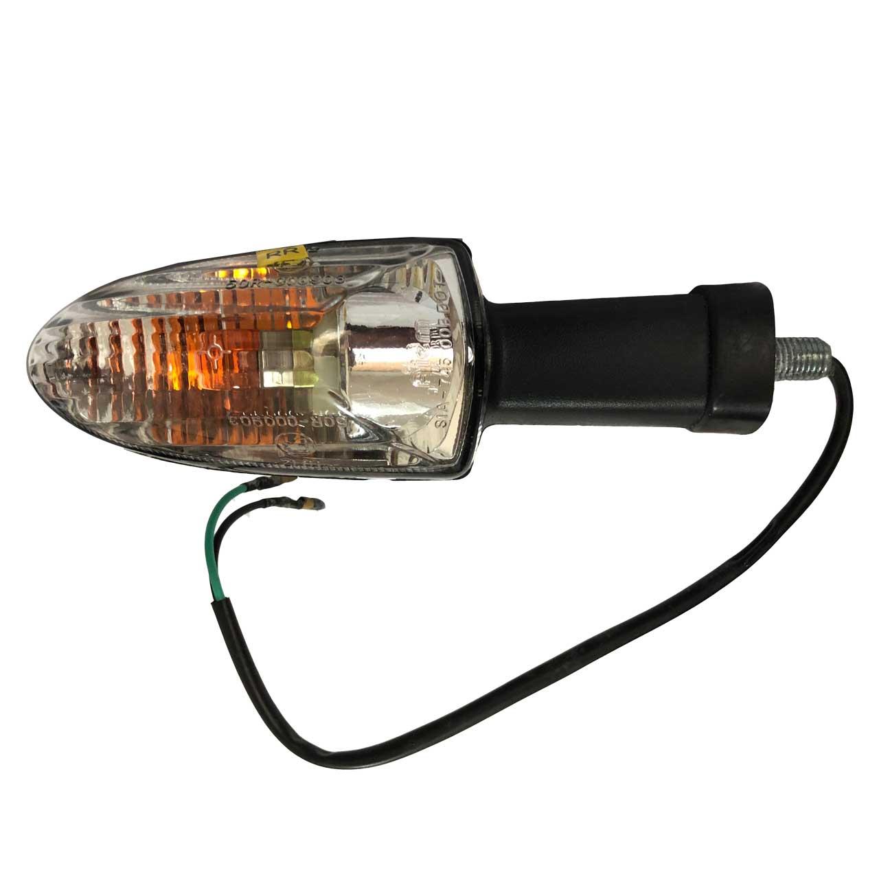 چراغ راهنما عقب چپ موتور سیکلت تی وی اس مدل BL مناسب برای آپاچی
