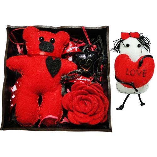 ست هدیه عروسک مدل Happy کد 5491