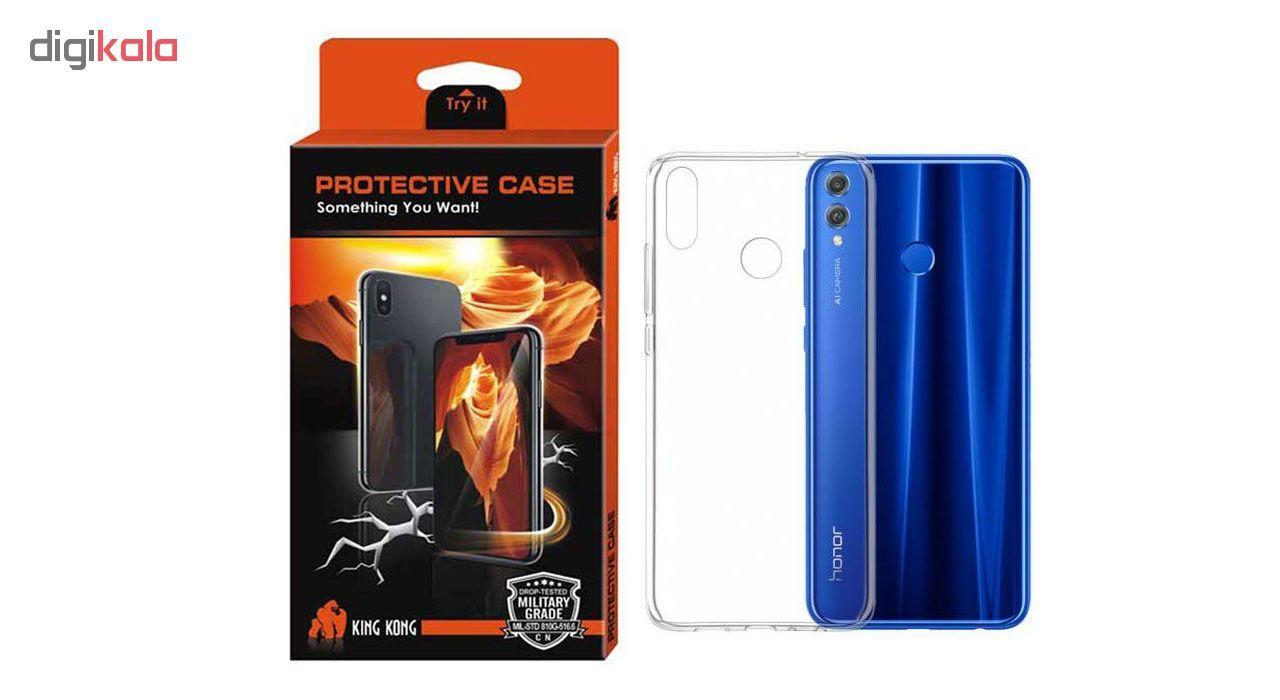 کاور کینگ کونگ مدل TPU Protective مناسب برای گوشی Huawei Honor 8X main 1 1
