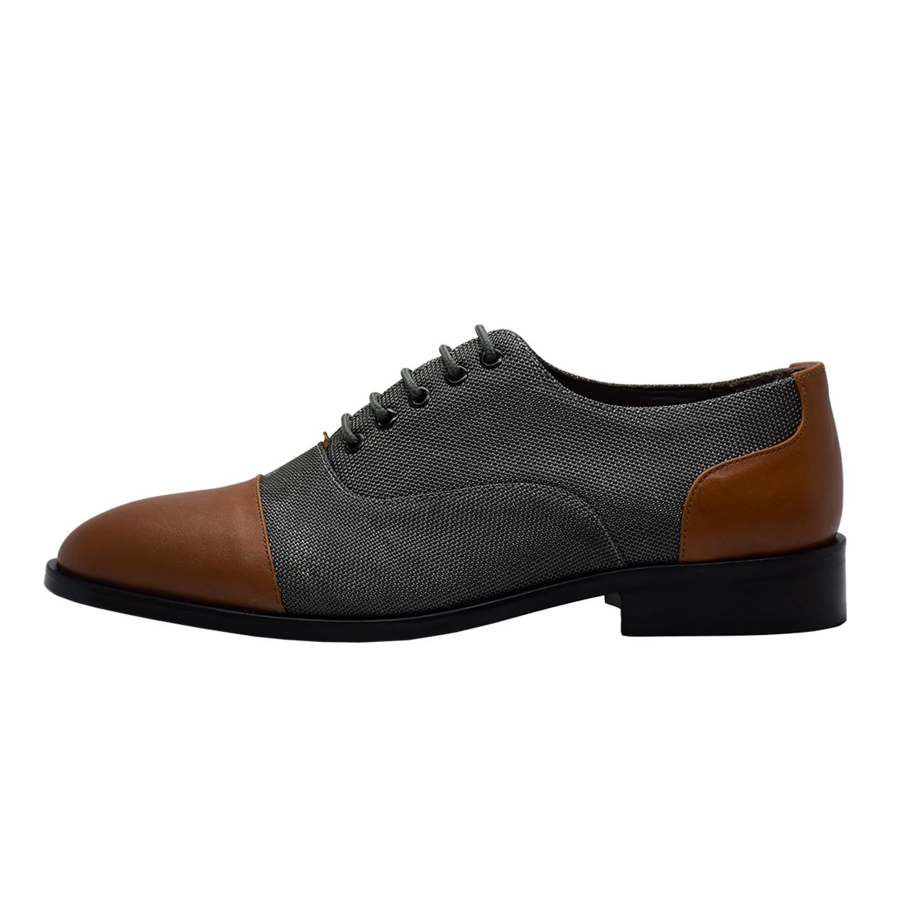 کفش مردانه رسا چرم کد 211