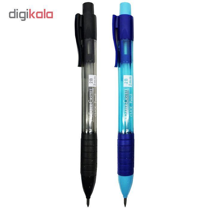 مداد نوکی 2mm میلی متری فابر کاستل مدل  Click main 1 2