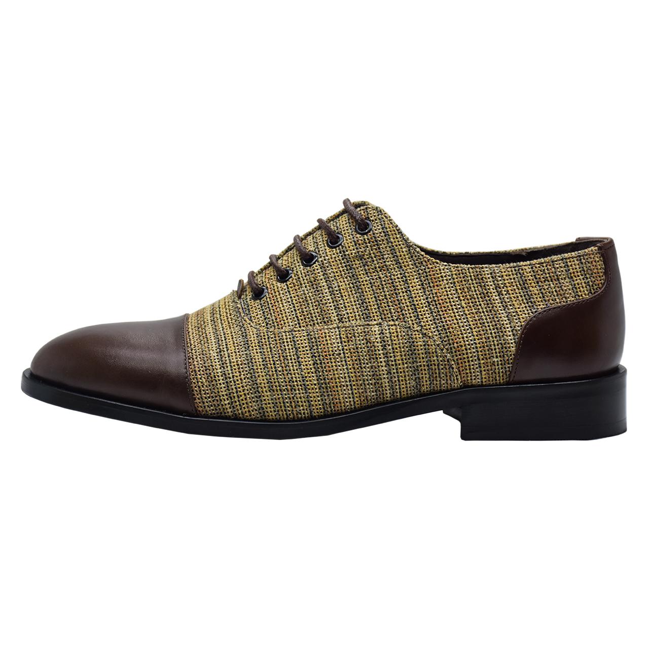 کفش مردانه رسا چرم کد 212