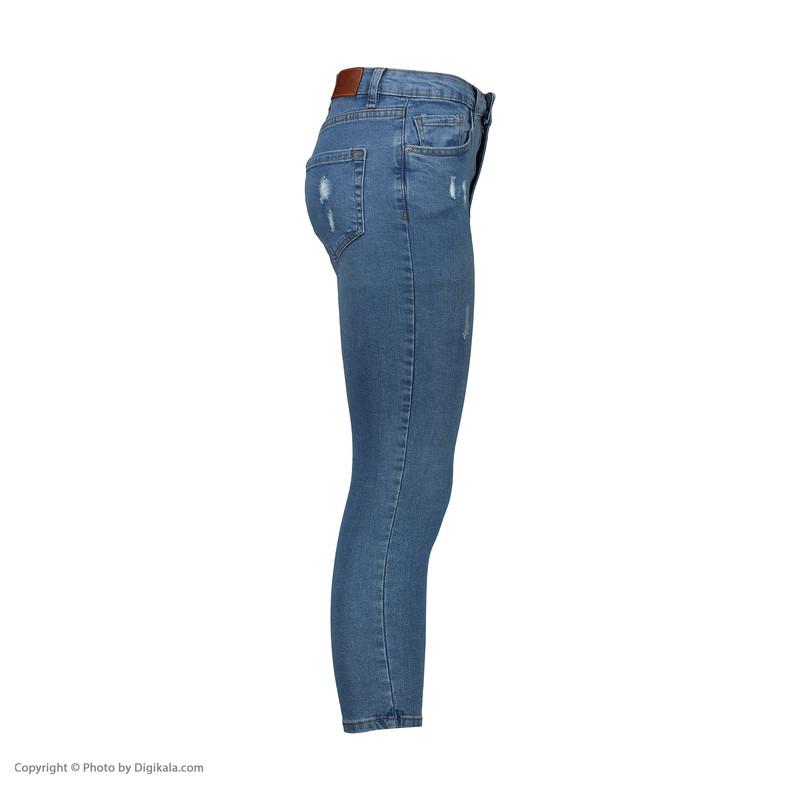 شلوار جین زنانه سولا مدل SL520640007-DEEPSEA