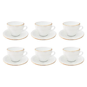 ست فنجان و نعلبکی 12 پارچه مقصود کد FN022