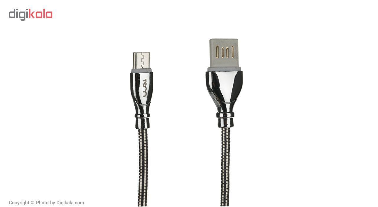 کابل تبدیل USB به microUSB تسکو مدل TC 62N طول 1 متر main 1 2