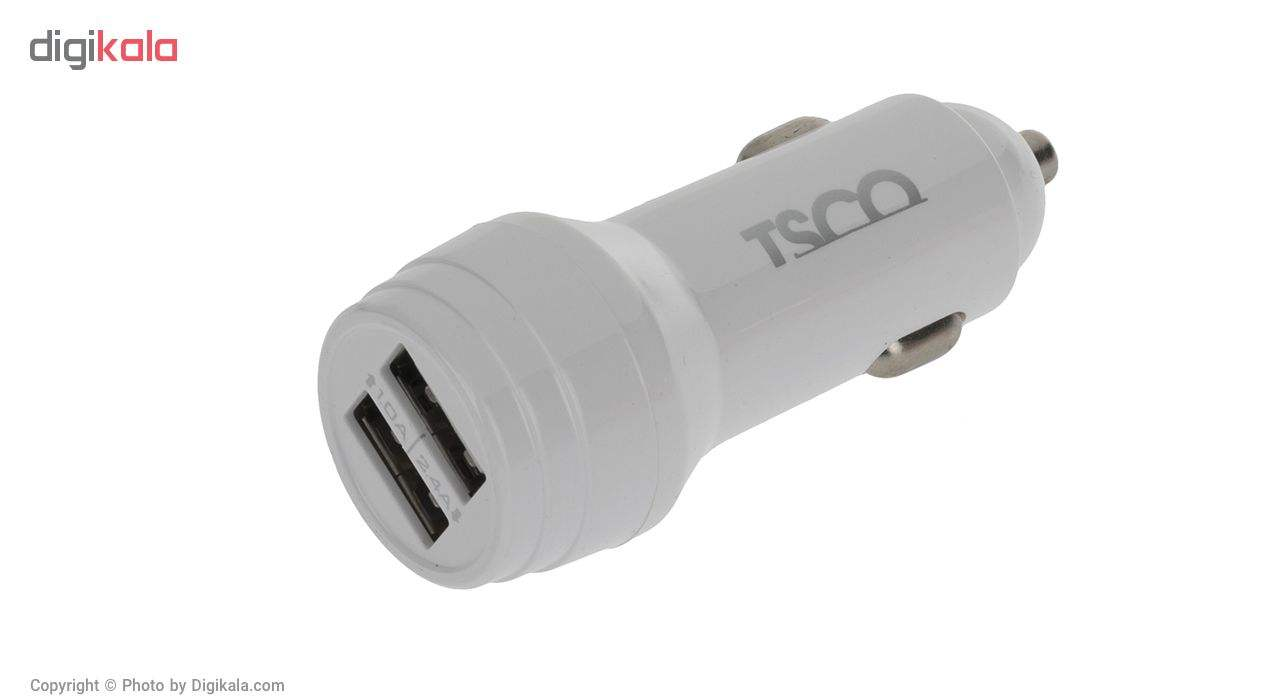 شارژر فندکی تسکو مدل TCG 23 به همراه کابل تبدیل USB به microUSB main 1 2