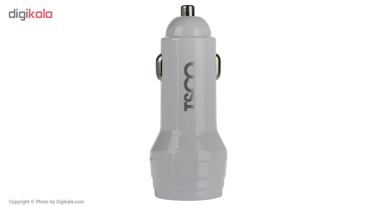 شارژر فندکی تسکو مدل TCG 23 به همراه کابل تبدیل USB به microUSB main 1 1