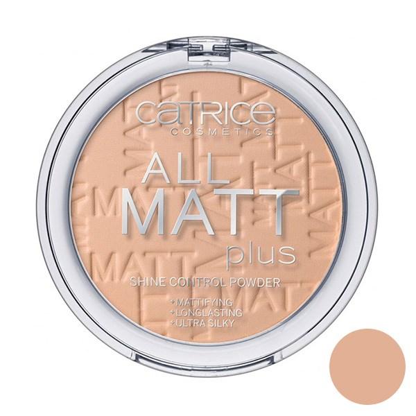 قیمت پنکیک بژ متوسط کاتریس مدل All Matt Plus Shine Control Powder 025