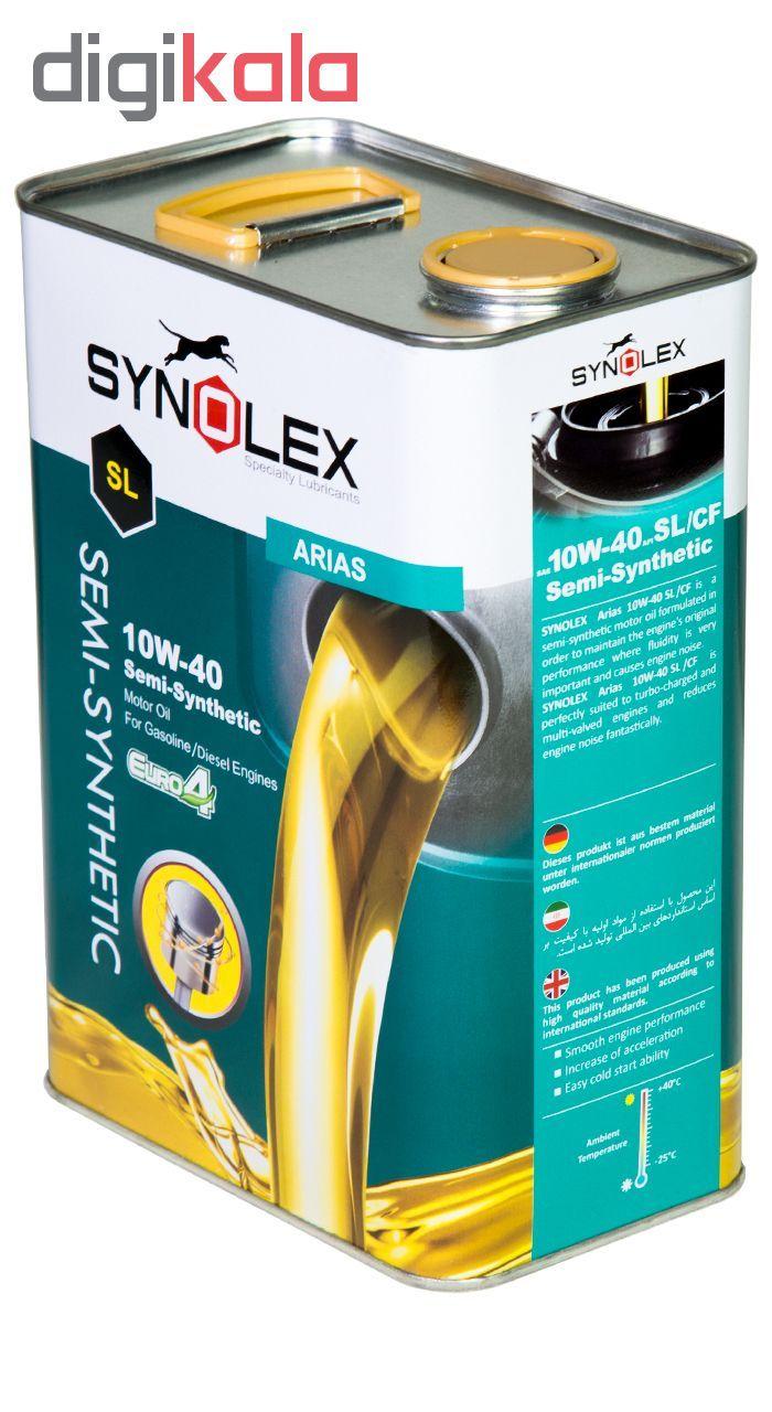 روغن موتور خودرو سینولکس مدل 10W-40 SL حجم 3.5 لیتر main 1 2