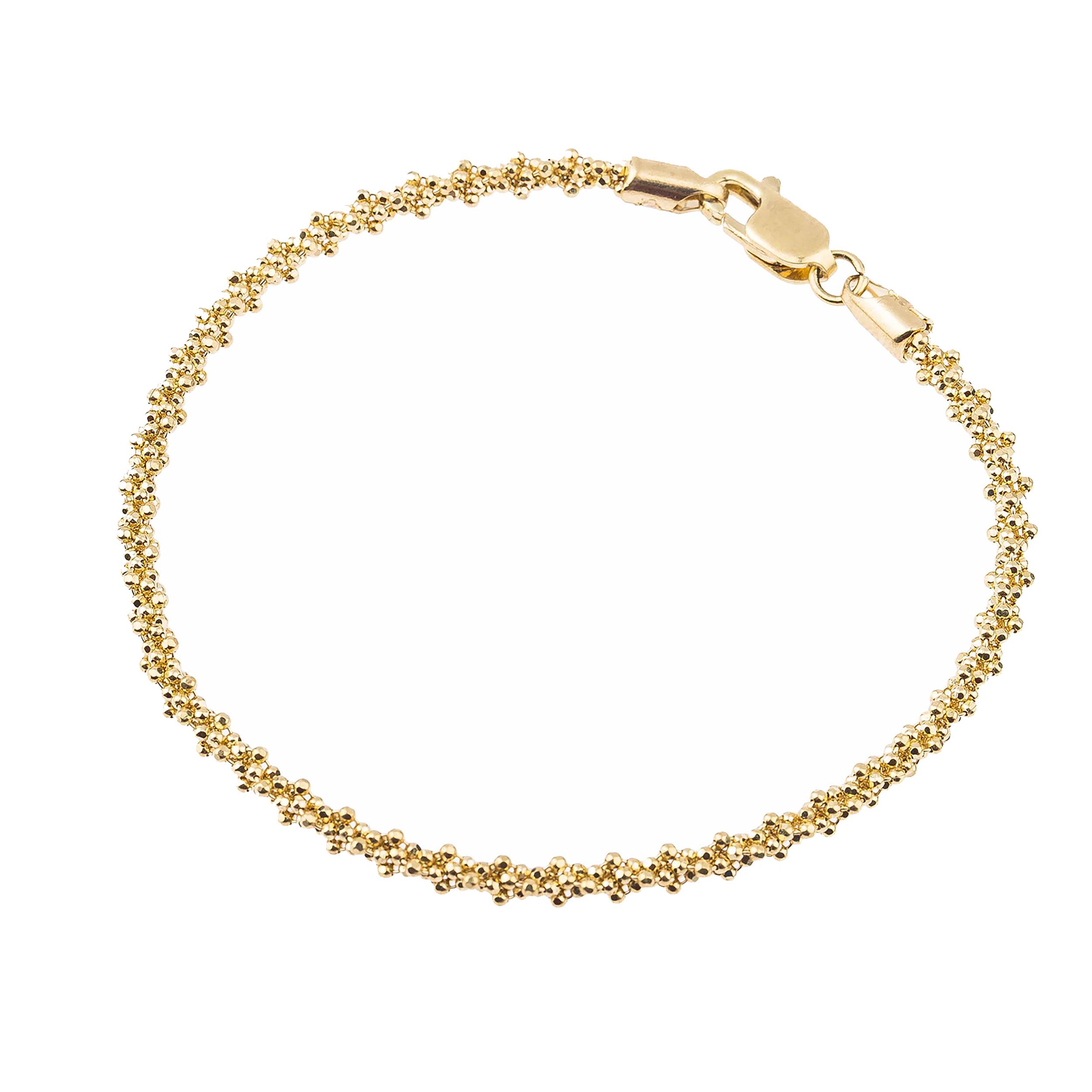 دستبند طلا 18 عیار کد B105