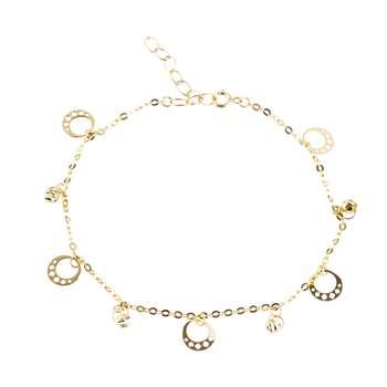 دستبند طلا 18 عیار کد B104 |