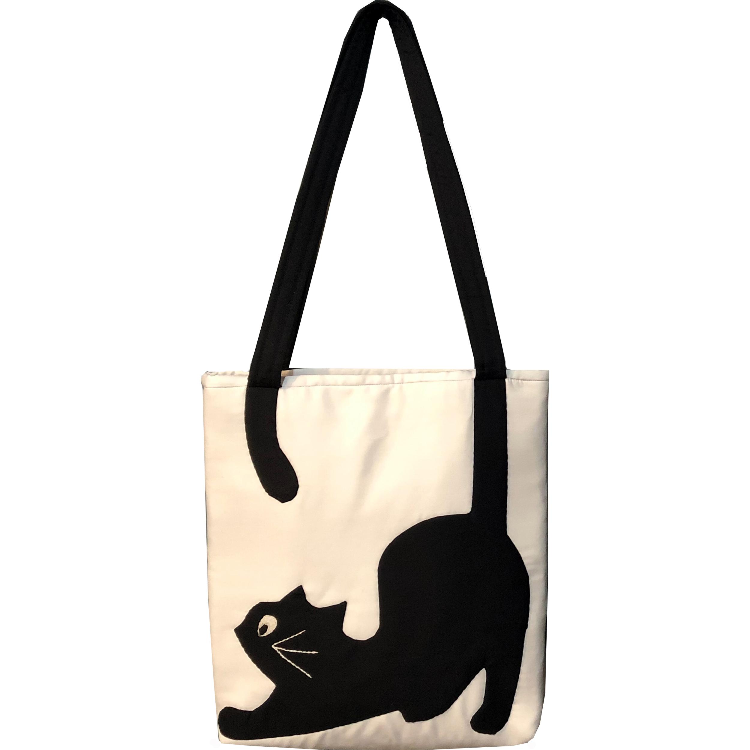 کیف رودوشی طرح گربه