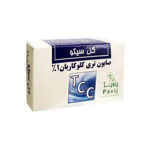 صابون آنتی باکتریال گل سیتو مدل TCC وزن ۱۰۰ گرم