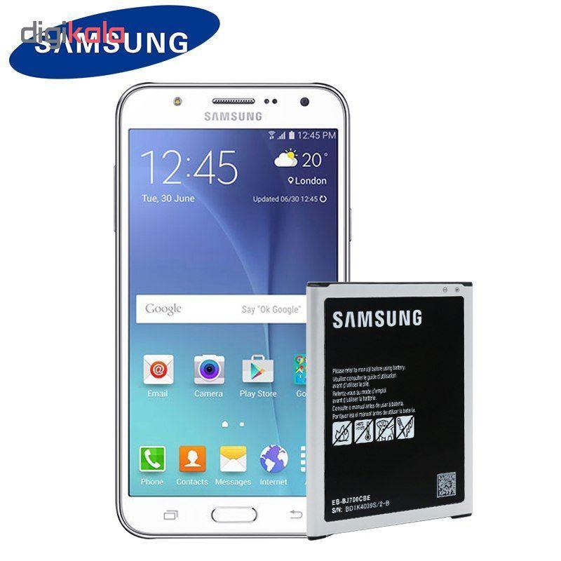 باتری موبایل مدل J700 ظرفیت 3000 میلی آمپر ساعت مناسب برای گوشی موبایل GALAXY J7 main 1 1