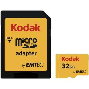 کارت حافظه microSDHC امتک کداک کلاس 10 استاندارد UHS-I U1 سرعت 85MBps 580X همراه با آداپتور SD ظرفیت 32 گیگابایت