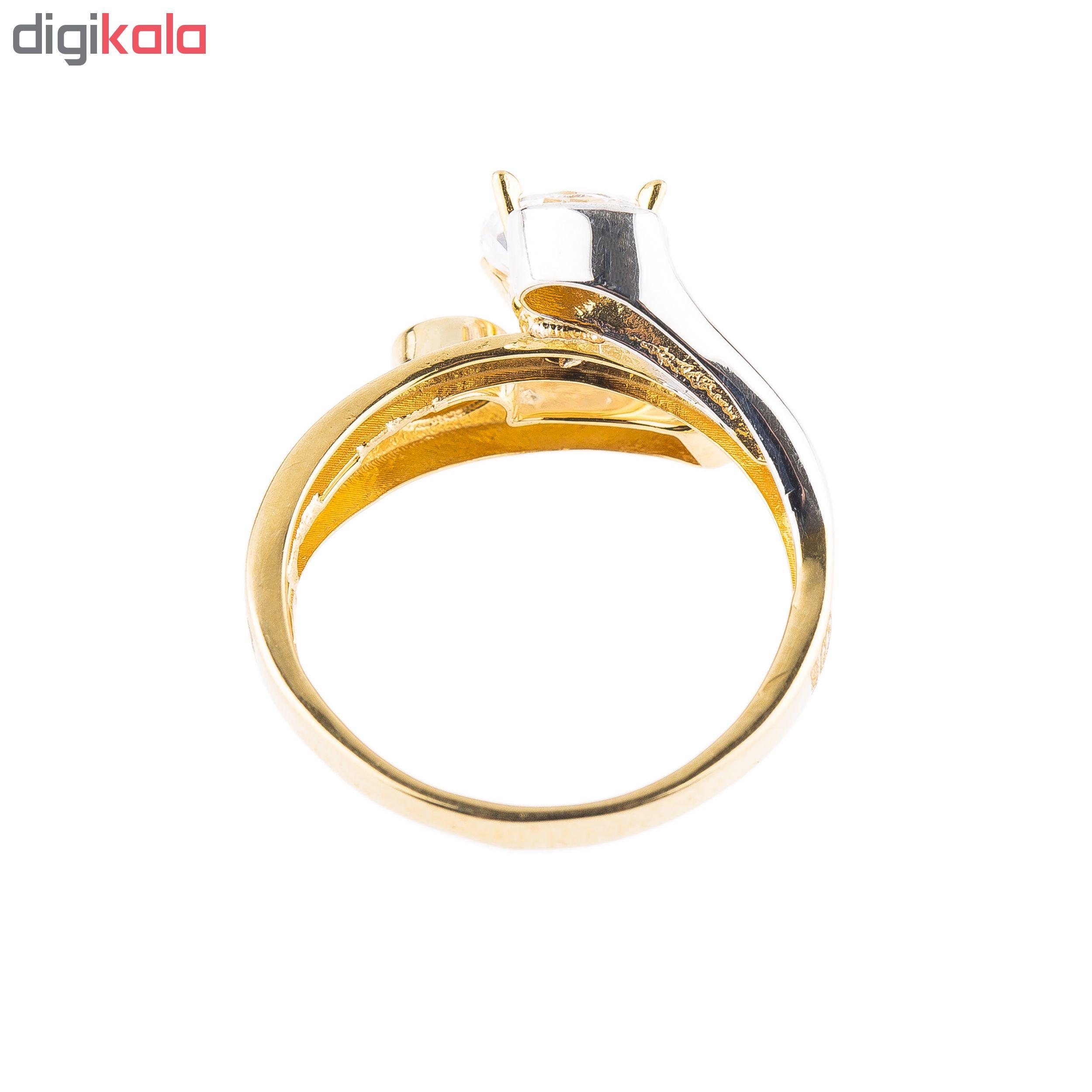 انگشتر طلا 18 عیار کد 6025