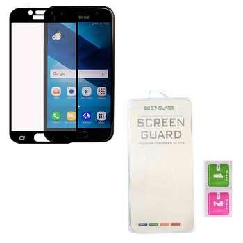 محافظ صفحه نمایش مدل  full cover 3D BEST GLASS مناسب برای گوشی موبایل سامسونگ A3 2017