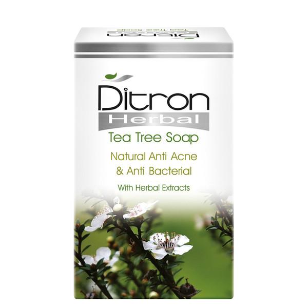 صابون ضد باکتری دیترون سری Herbal مدل Anti bacterial And Anti Acne وزن ۱۱۰ گرم