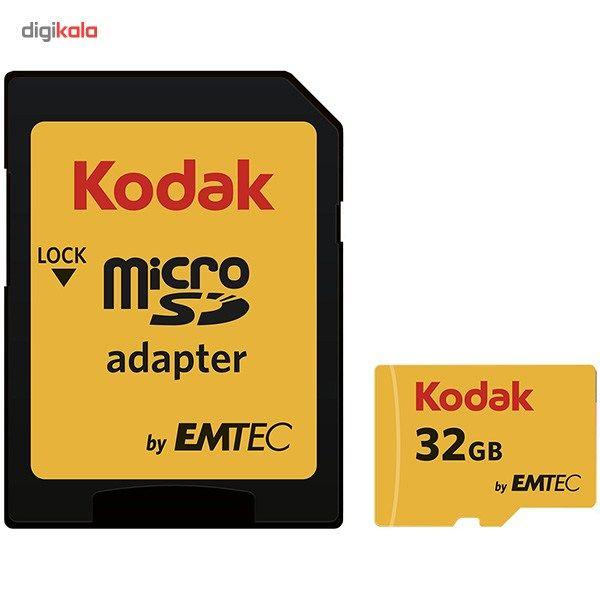 کارت حافظه microSDHC امتک کداک کلاس 10 استاندارد UHS-I U1 سرعت 85MBps 580X همراه با آداپتور SD ظرفیت 32 گیگابایت main 1 1