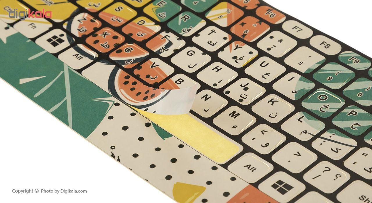 برچسب کیبورد کد 27 با حروف فارسی main 1 2
