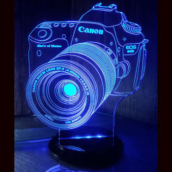 چراغ خواب طرح دوربین عکاسی کنون کد 1004  