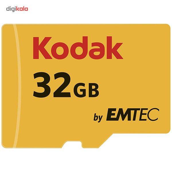 کارت حافظه microSDHC امتک کداک کلاس 10 استاندارد UHS-I U1 سرعت 85MBps 580X همراه با آداپتور SD ظرفیت 32 گیگابایت main 1 2