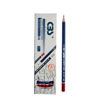 مداد مشکی سی بی اس مدل jm401  بسته 12 عددی