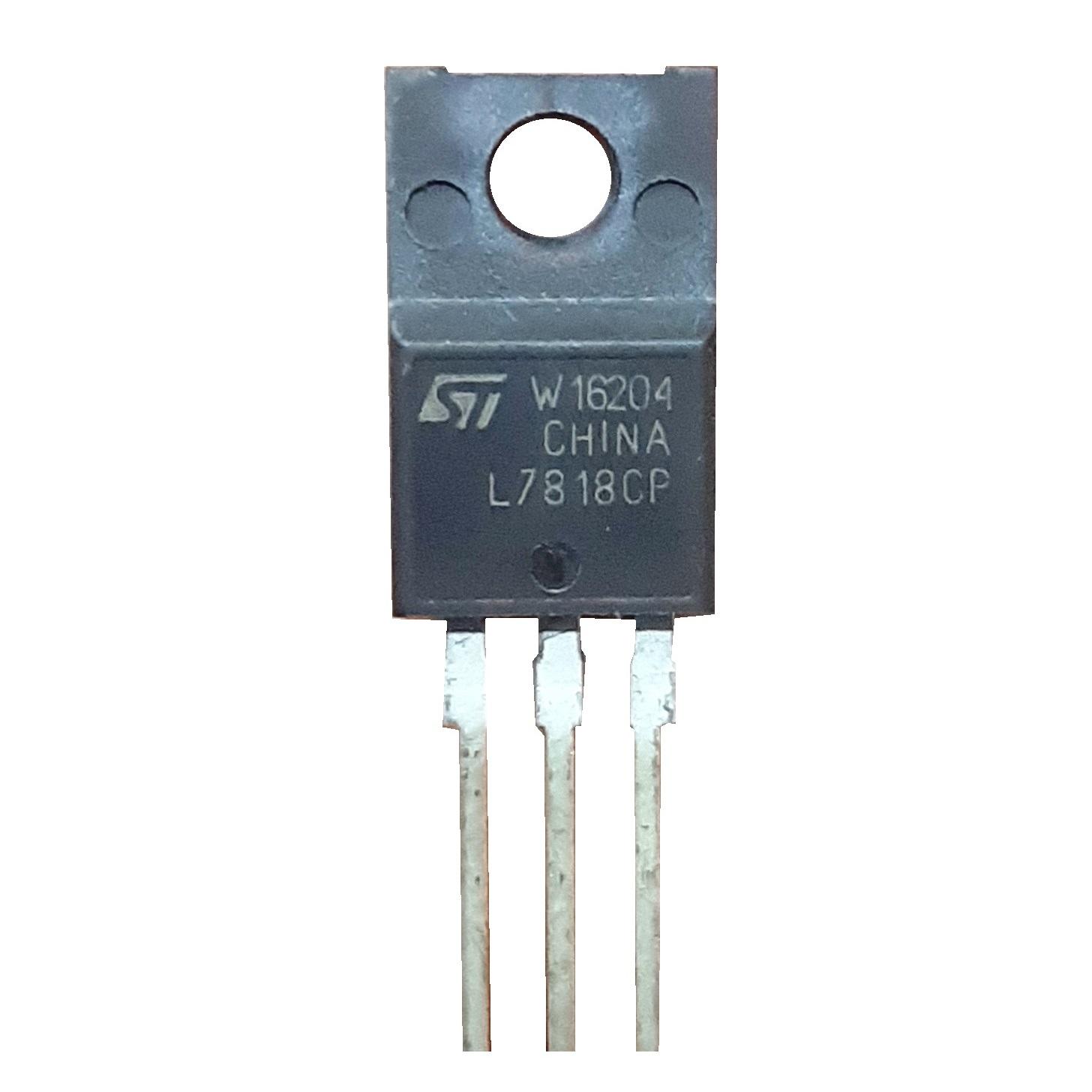 رگولاتور ولتاژ اس تی مایکروالکترونیکس مدل L7818 CP