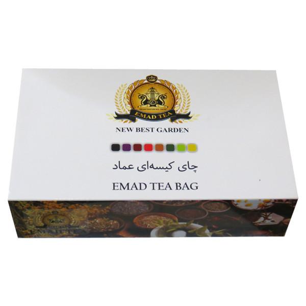 چای کیسه ای عماد مدل Mix بسته 100 عددی