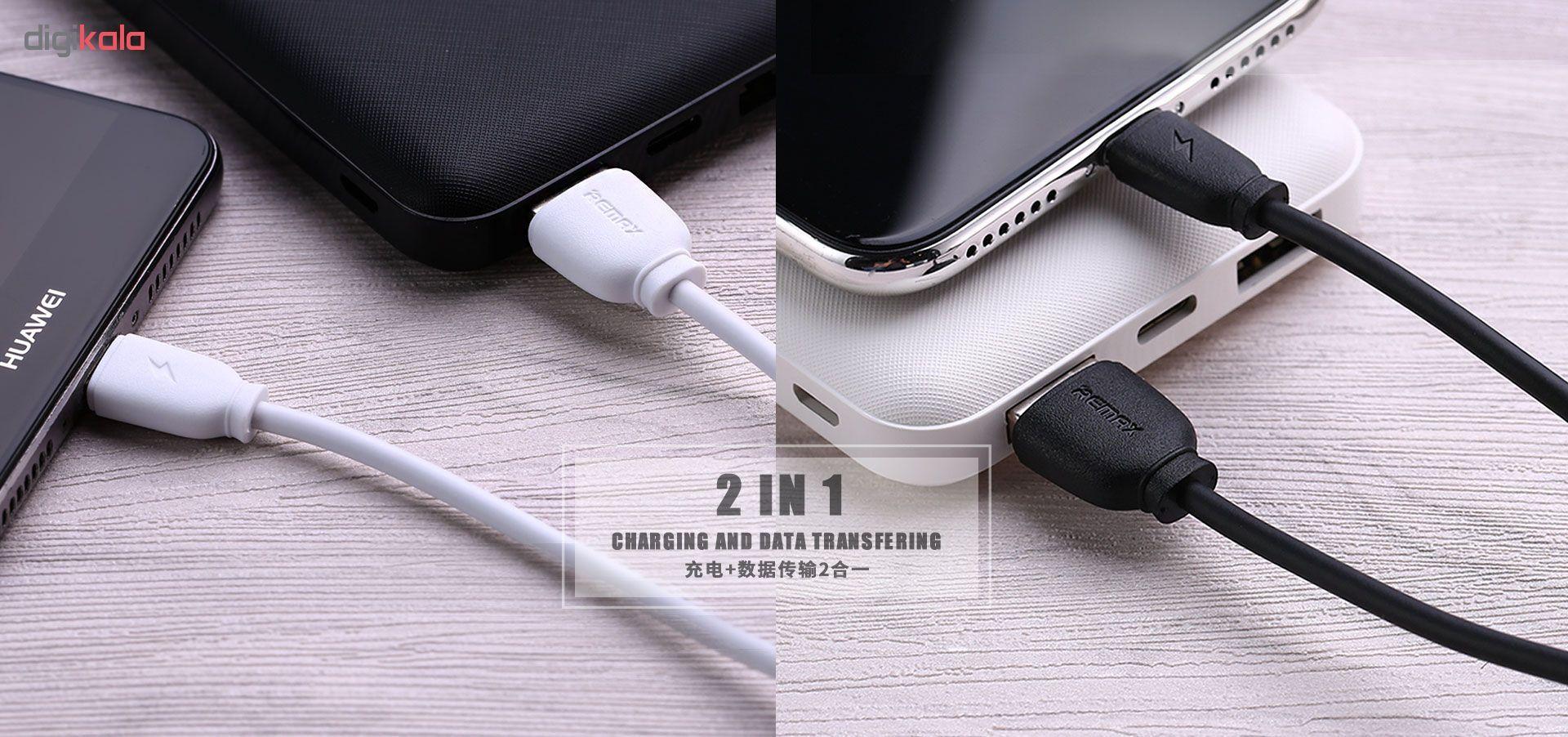 کابل تبدیل USB به microUSB ریمکس مدل RC-134m طول 1 متر main 1 1