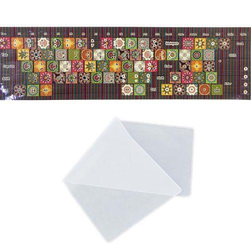 برچسب حروف فارسی کیبورد طرح سنتی به همراه محافظ کیبورد مدل 14-I مناسب برای لپ تاپ 14 اینچ