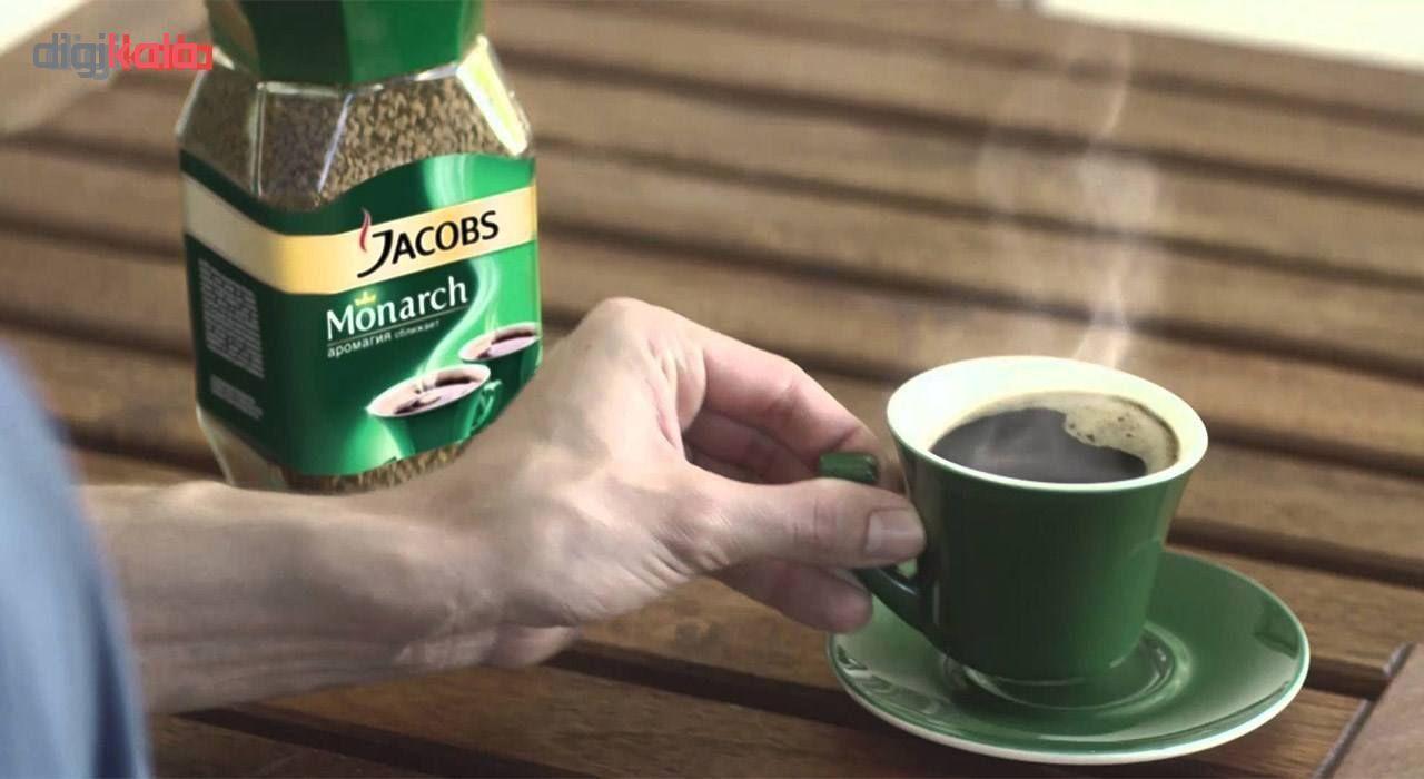 قوطی قهوه فوری جاکوبز مدل مونارک مقدار 200 گرم main 1 2