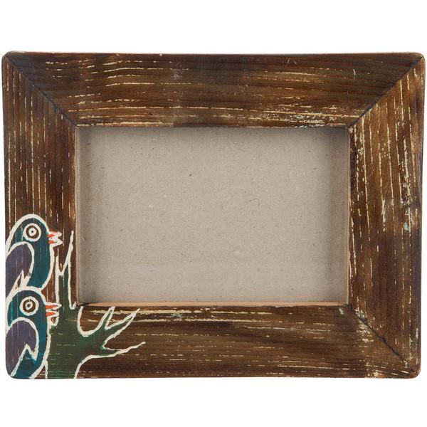 قاب عکس چوبی گالری اشکان نقش 5 سایز 15 × 10 سانتی متر