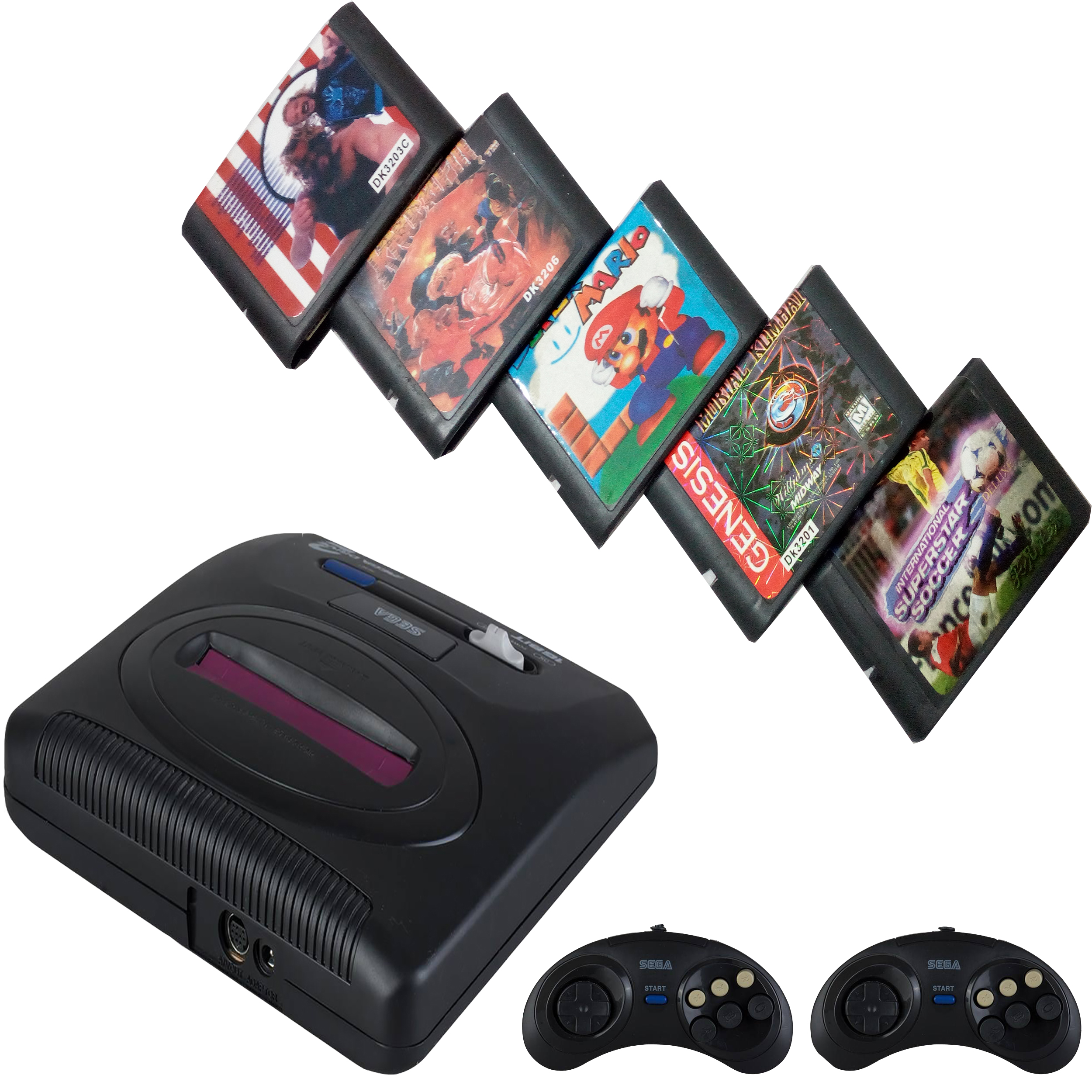 کنسول بازی سگا مدل Medda drive 3 به همراه 5 عدد بازی