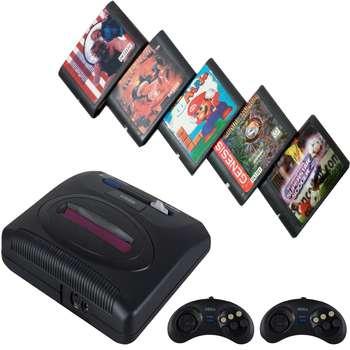 کنسول بازی سگا مدل Medda drive 3 به همراه 5 عدد بازی |