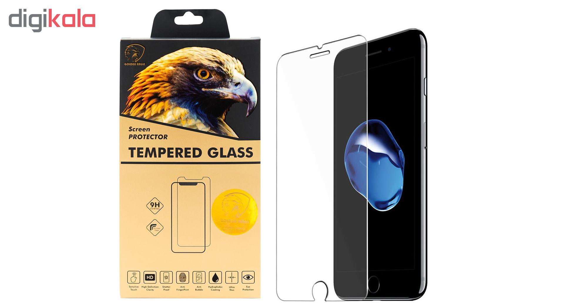 محافظ صفحه نمایش گلدن ایگل مدل Brilliant Shield مناسب برای گوشی اپل آیفون 7/8 پلاس main 1 1