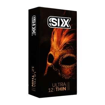 کاندوم سیکس مدل Ultra Thin بسته 12 عددی