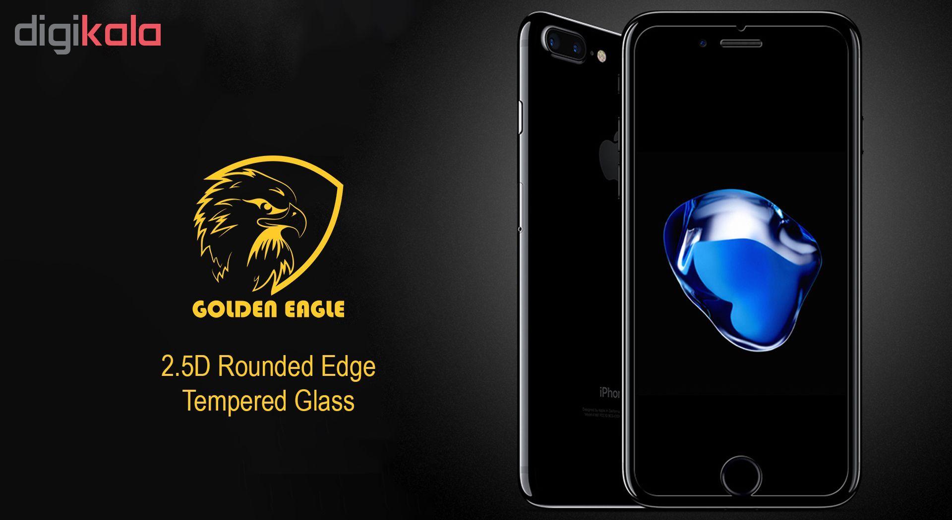 محافظ صفحه نمایش گلدن ایگل مدل Brilliant Shield مناسب برای گوشی اپل آیفون 7/8 main 1 2