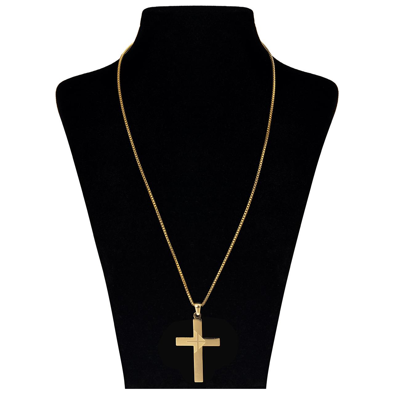 قیمت گردنبند بهارگالری طرح صلیب مدل Classic Cross کد 202050