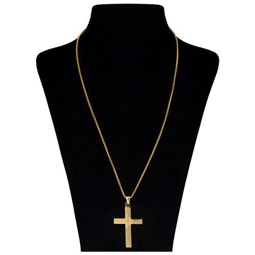 گردنبند بهارگالری طرح صلیب مدل Classic Cross کد 202050