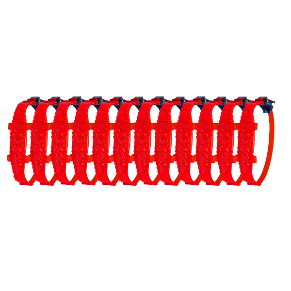 زنجیر چرخ کمربندی نانوسایبر 12 عددی قرمز سایز رینگ 16 به بالا