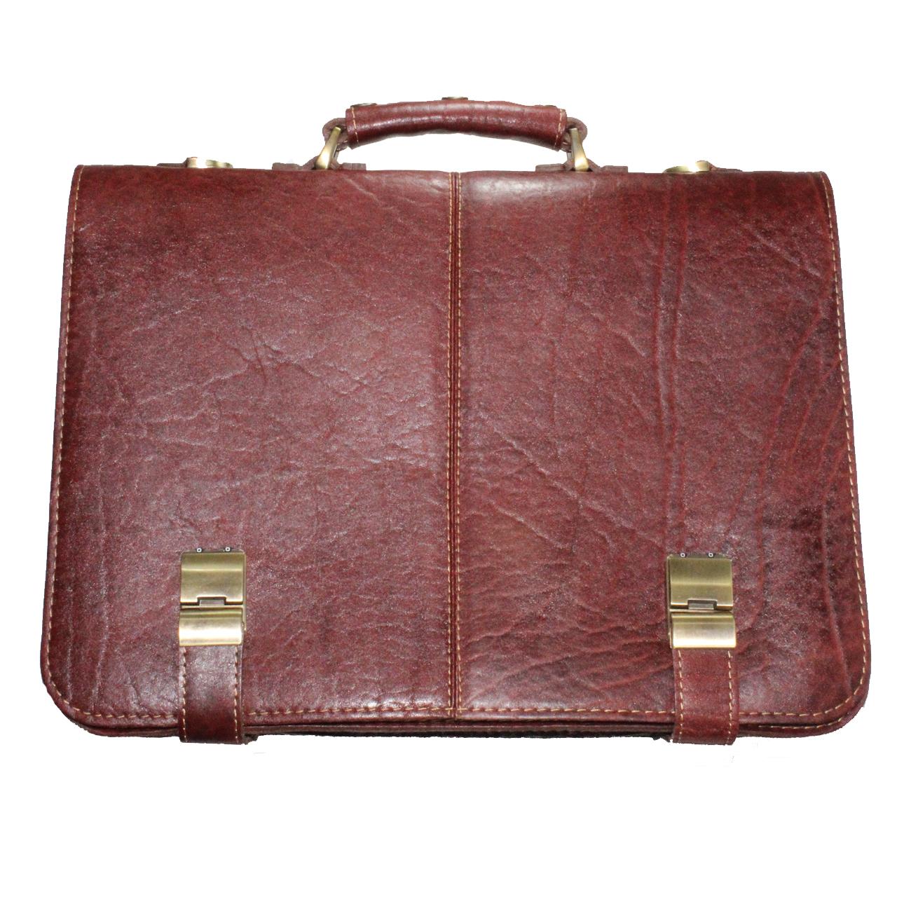 کیف اداری مردانه چرمی مدل KR 02