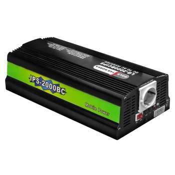 اینورتر شارژر مبدل برق باتری به برق شهر برند گلداستار توان 2kVA مدل LG-2000BC ( مبدل 12 ولت به 220 ولت ظرفیت 2000 ولت آمپر ) |