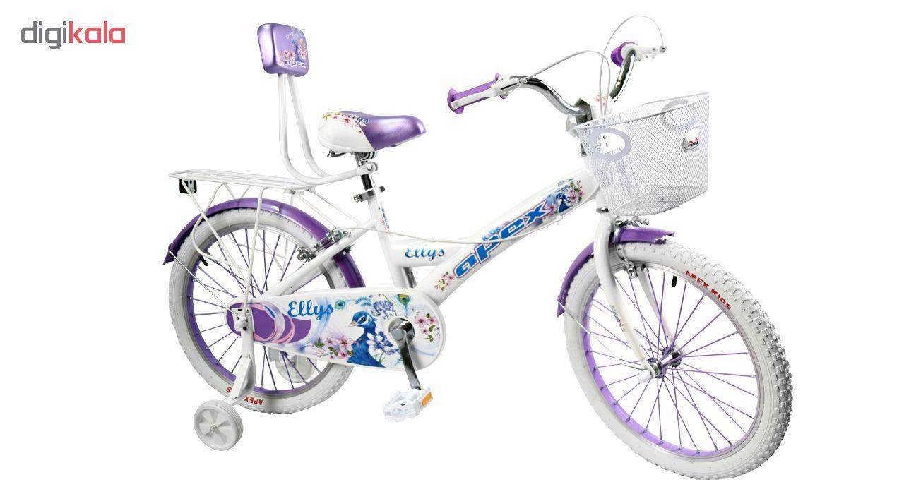 دوچرخه شهری اپکس مدل Ellys WH سایز 20
