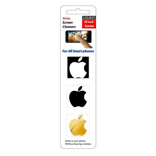 پد پاک کننده صفحه نمایش لوکین  طرح اپل مجموعه بسته 3 عددی