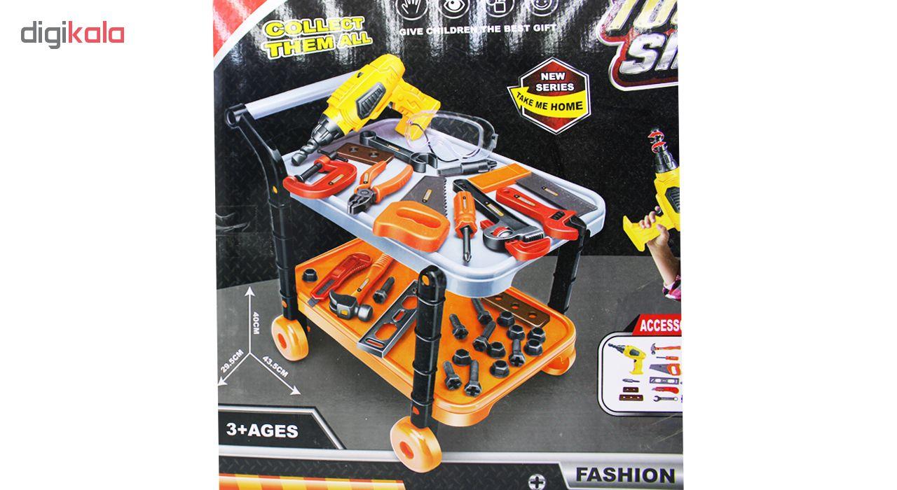 ست ابزار نجاری اسباب بازی مدل Fashion tools